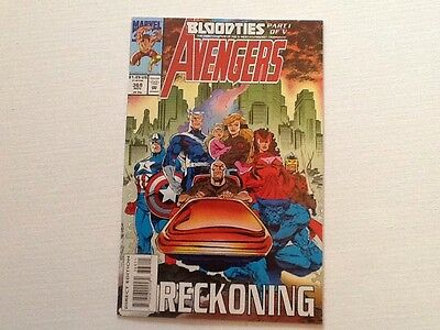 The Avengers #368 Marvel Comics 1993 Nick Fury Of SHIELD X-Men Steve Epting
