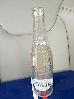Vintage Nesbitts Advertising Soda Pop Bottle Los Angeles Collectible