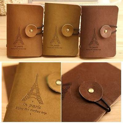 Fashion Practical Leather Business Credit Card Cases Holder Case Wallet
