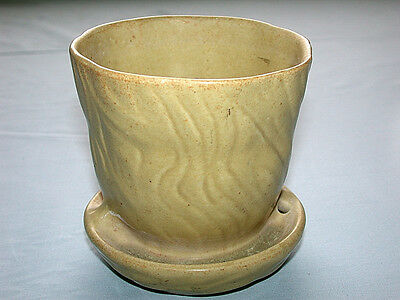 Beautiful Vintage Artist Signed Hand Made Pottery Planter Pot