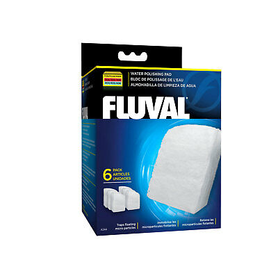 Fluval Polishing Pad for 304 305 306 and 404 405 406 External Filters, 6 pieces