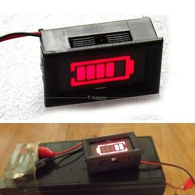 6V/12V/24V/36V/48V LED Tester Acid lead batteries indicator capacity Battery