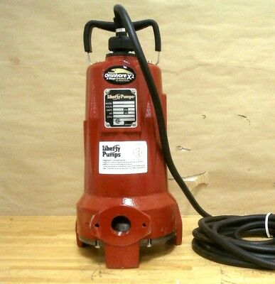 2 HP Grinder Pump 460V 3 Phase Manual 2-Stage High-Head LIBERTY LSGX204M