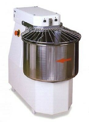 Spiral Dough Mixer 40 Liter / 38 Kgs Of Dough Made In Italy - Best Quality