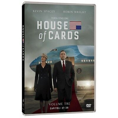 Cofanetto House Of Cards - Stagione 03 (4 Dvd) Serie Tv Dvd Nuovo - Sony-211380