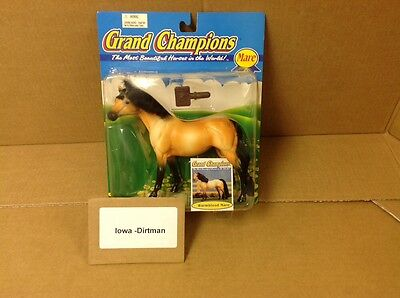 Grand Champions 1995 Warmblood Mare 50042 Vintage Horse New Play Set