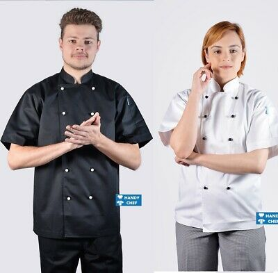 Premium Quality Chef Jacket - See Handy Chef Store for Chef Pants, Aprons, Caps