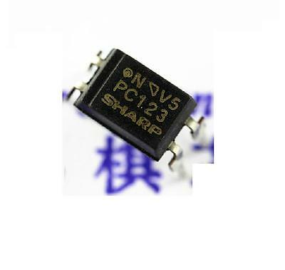 50Pcs PC123 Triac Driver IC Optoisolator Photocoupler Optocoupler DIP-4 NEW