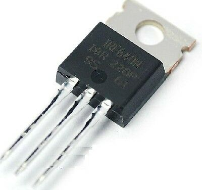 5PCS New IRF640 IRF640N Power MOSFET 18A 200V TO-220 IR