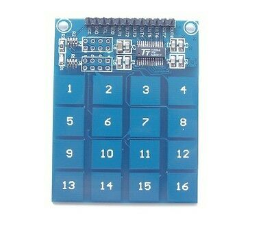TTP229 16-way capacitive touch switch digital touch sensor module