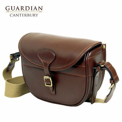 Guardian Canterbury Cartridge Bag - Leather - Chestnut (Shooting/ Hunting)