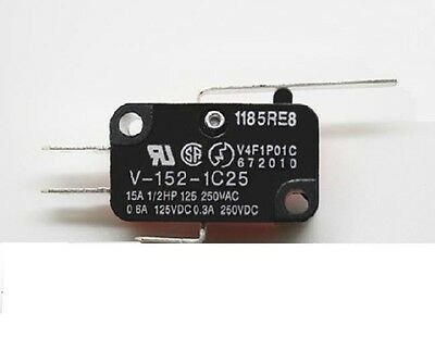 SUNS VS-16G2-E-A Miniature Basic 16A Snap Action Lever Micro Switch V-15G2