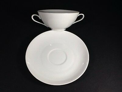Beautiful Vintage Tirschenreuth Bavaria Germany Coupe Saucer Only