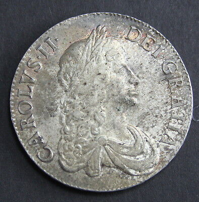 Charles II 1667 Crown