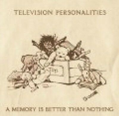A Memory Is Better Than Nothing - TELEVISION PERSONALITIES [LP]