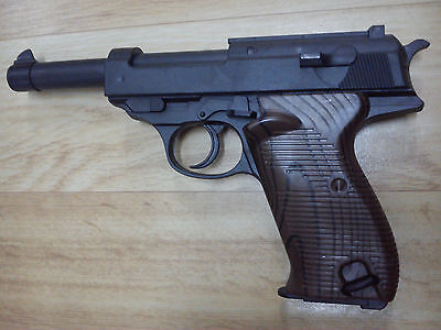 Walther P38 dummy prop fake blowback  costume party toy film movie Pistole 38