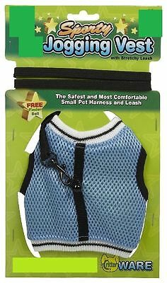 Ware Sporty Jogging Vest Comfort Harness Stretchy Leash All Animal Free Ship Usa