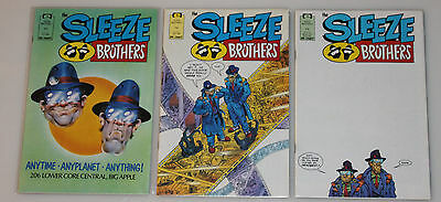 Sleeze Brothers 1-6 Complete Series 1989 Marvel Epic VF/NM