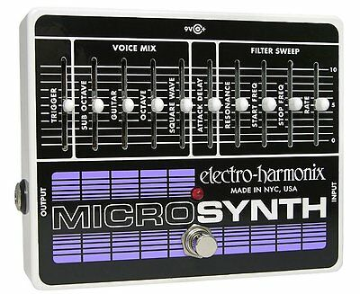 Electro-Harmonix Micro Synth Synthesizer pedal