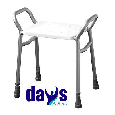 Days Lightweight Height Adjustable Shower Stool Seat Disability Aid