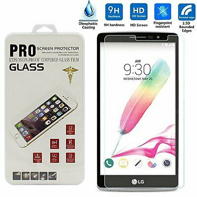Ultra-Thin Premium Tempered Glass Screen Film Protector For LG G Stylo