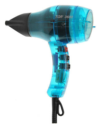 Velecta Paramount TGR 3600 Turquoise Tansparent Professional Hairdryer +1600Watt