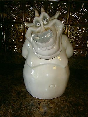 Disneys Hugo Gargoyle From Hunchback Of Notre Dame Cookie Jar Perfect Condition