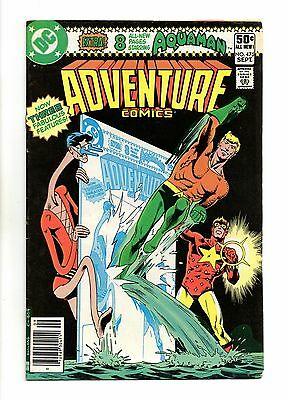 Adventure Comics Vol 1 No 475 Sep 1980 (VFN+) DC Comics, Modern Age (1980 - Now)