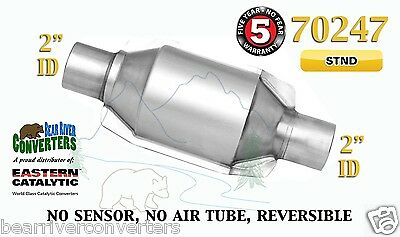 "70247 Eastern Universal Catalytic Converter Standard Catalyst 2"" Pipe 8"" Body"