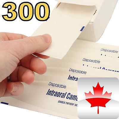 NEW 300 Pc Intraoral DENTAL CAMERA Sleeve/Sheath/Cover Ships From USA + Canada A