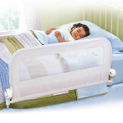 Summer Infant Universal White Travel Bed Guard Rail - Baby/Toddler/Child Bed
