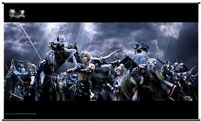 *NEW* Dissidia 012 Final Fantasy: Chaos Wall Scroll by Square Enix