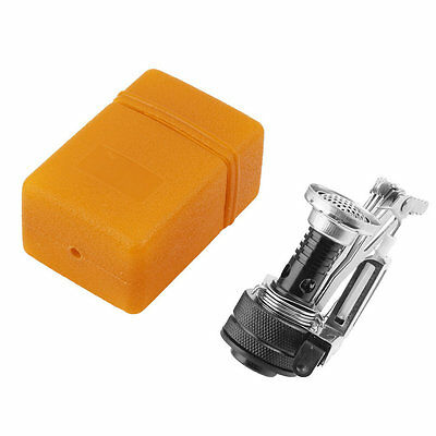 Folding Mini Camping Survival Cooking Furnace Stove Gas Burner Outdoor GT
