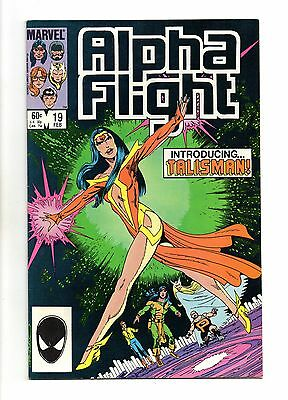 Alpha Flight Vol 1 No 19 Feb 1985 (VFN) Modern Age (1980-Now)