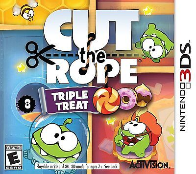 *NEW* Cut the Rope: Triple Treat - Nintendo 3DS