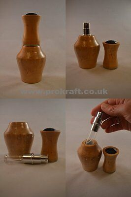 Woodturning Project Kit - Perfume Atomiser - Prokraft Pkr Pak