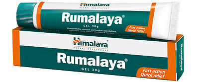 6 x Rumalaya Gel | Himalaya Herbals | 30g Tube | Direct From India