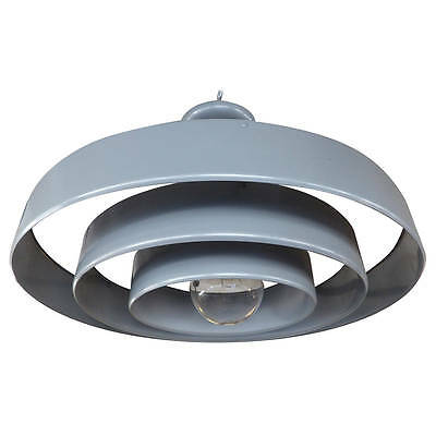 Industrial Modern Concentric Lighting Fixture by Prescolite