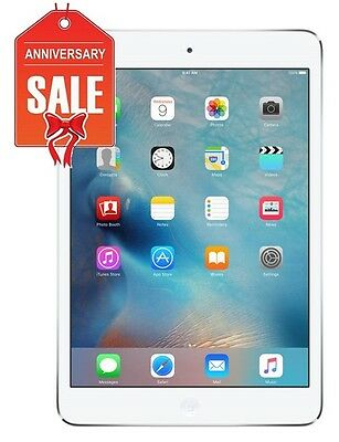 Apple iPad mini 2 16GB, Wi-Fi + 4G Cellular (Unlocked), 7.9in - Silver (R-D)