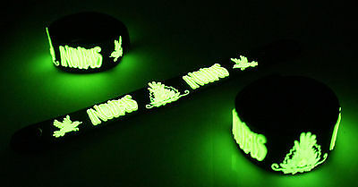 Incubus NEW! Glow in the Dark Rubber Bracelet Wristband DRIVE vg326