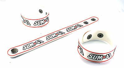 SUM 41 NEW! Rubber Bracelet Wristband Free Shipping Blood In My Eyes vr54