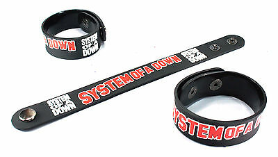 System of a Down NEW! Rubber Bracelet Wristband Free Shipping Chop Suey! vr209