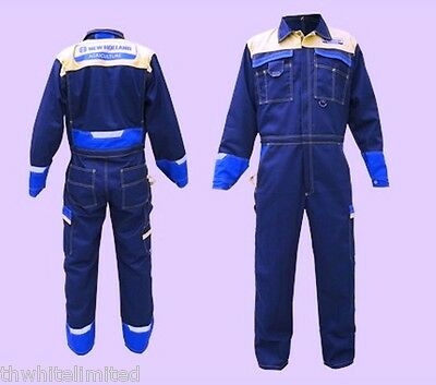 New Style Genuine New Holland Overalls New Holland Boilersuit Adult (Ch)