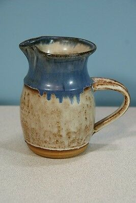 Unique Pottery - 6 inch Clay Pitcher - Very Nice Piece