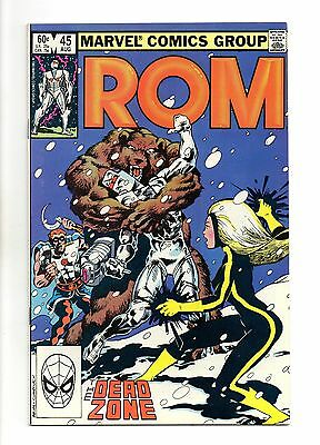 Rom No 45 Aug 1983 (VFN+) Marvel, Modern Age (1980 - Now)