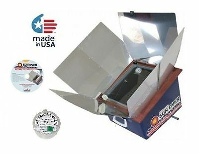 All American Sun Oven Portable Solar Cook Bake Oven + Free WAPI - Made in USA