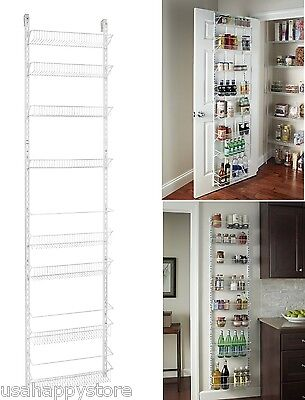 Over the door storage rack basket shelf kitchen organizer wall over the door storage rack basket shelf kitchen organizer wall holder spice herb workwithnaturefo