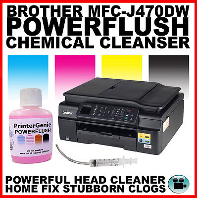 Brother MFC-J470DW Printhead Unblocking Kit - Head Cleaner & Nozzle Cleanser