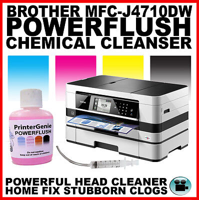 Brother MFC-J4710DW Printhead Unblocking Kit - Head Cleaner & Nozzle Cleanser