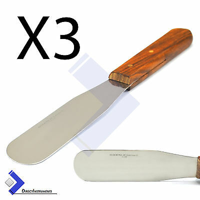 X3 Plaster & Alginate Mixing Spatula Dental Waxing & Modelling Carvers Lab Tools
